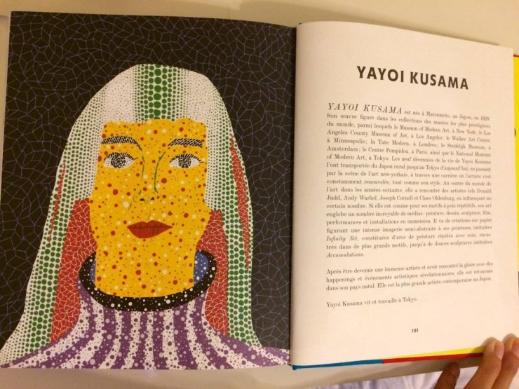 yayoi kusama book